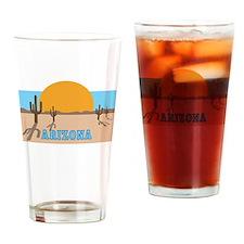 Arizona desert scene Drinking Glass
