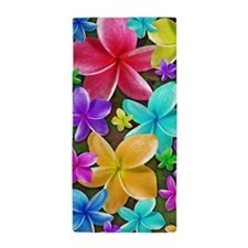 Plumerias Flowers Dream Beach Towel