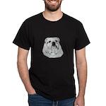 Proud English Bulldog Dark T-Shirt