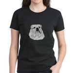Proud English Bulldog Women's Dark T-Shirt