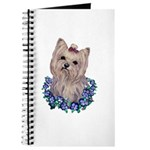 A Pensive Pretty Yorkie Journal