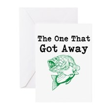 The One That Got Away Greeting Cards