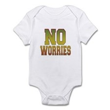 No Worries Infant Bodysuit