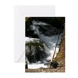 Fly Fishing Rod Note Cards (Blank inside Pk of 10)