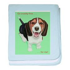 Cute Beagles baby blanket