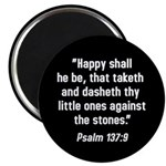 Psalm 137 Magnet