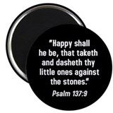 Psalm 137 2.25&quot; Magnet (10 pack)