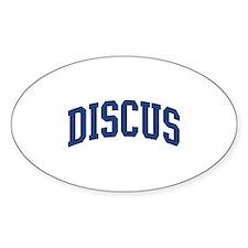 Discus Decal