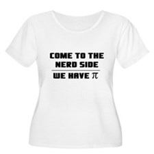 Come to the nerd side Plus Size T-Shirt