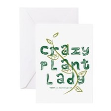 Crazy Plant Lady Greeting Cards (Pk of 10)