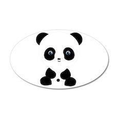 Panda Bear Wall Decal
