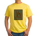 Enjoy Life, Eat Out More Often Yellow T-Shirt