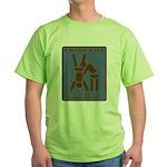 Enjoy Life, Eat Out More Often Green T-Shirt