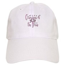 Grandma of the Bride Baseball Cap