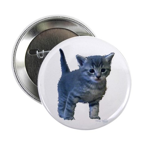 "Kitten 2.25"" Button (100 pack)"