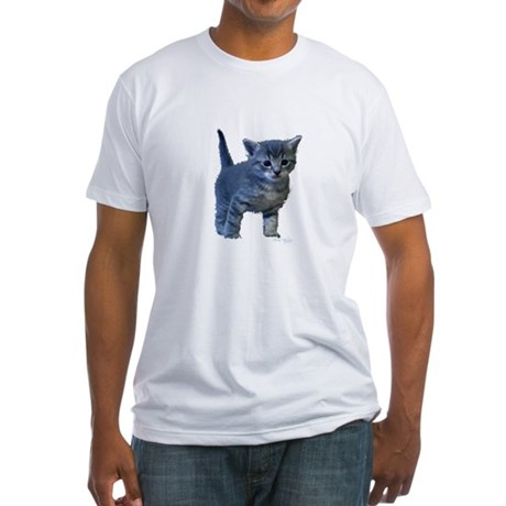 Kitten Fitted T-Shirt