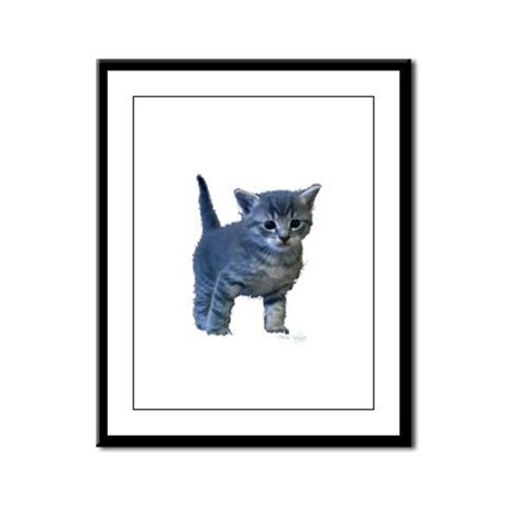 Kitten Framed Panel Print