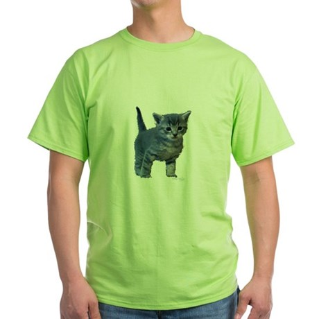 Kitten Green T-Shirt