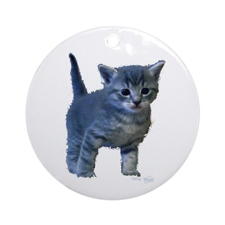 Kitten Ornament (Round)