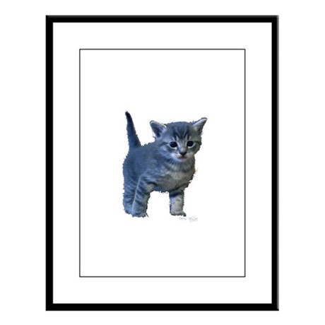 Kitten Large Framed Print