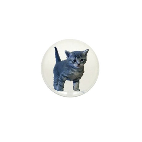 Kitten Mini Button (100 pack)