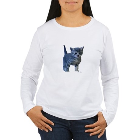 Kitten Women's Long Sleeve T-Shirt