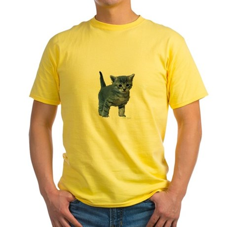 Kitten Yellow T-Shirt