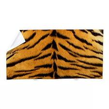 Tiger Fur Print Beach Towel