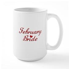 February Bride Mug