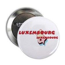 "Luxembourg Map 2.25"" Button (10 pack)"