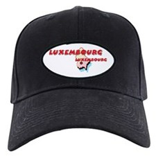 Luxembourg Map Baseball Hat