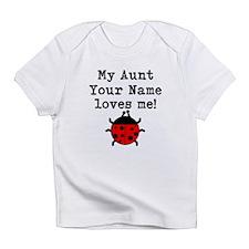 My Aunt Loves Me Ladybug Infant T-Shirt