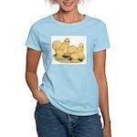 Buff Silkie Chickens Women's Light T-Shirt