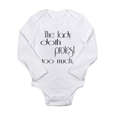 doth protest romantic light Body Suit