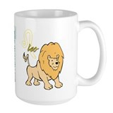 Cartoon Leo Mug