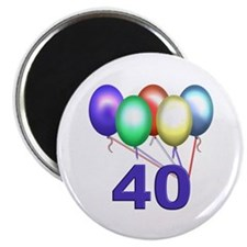 "40 Gifts 2.25"" Magnet (100 pack)"