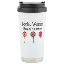Cute Social workers Travel Mug