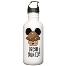 FBD Muffin w/text Water Bottle
