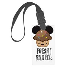 FBD Muffin w/text Luggage Tag