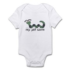 My Pet Worm Infant Bodysuit