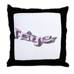 FAYE NAME Throw Pillow