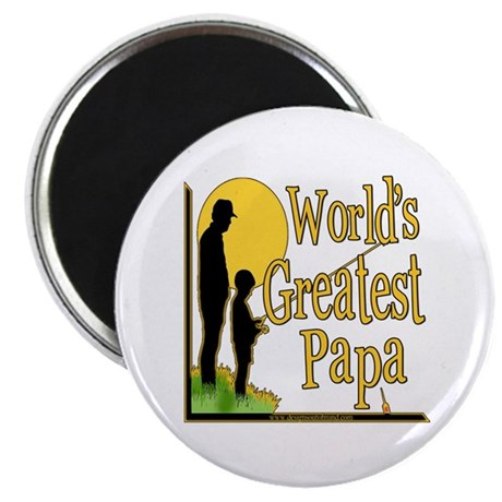 "World's Greatest Papa 2.25"" Magnet (100 pack)"