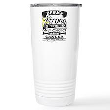 Ewing Sarcoma Strong Travel Mug