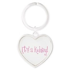 Funny Renals Heart Keychain