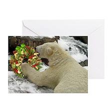 Christmas Treat Wreath Greeting Cards