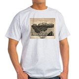 Antique map of Bar Harbor, Ma T-Shirt