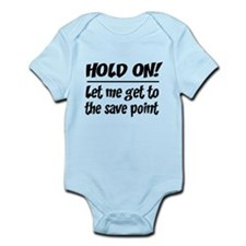 Hold on! save point Body Suit
