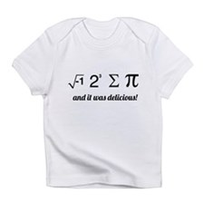 I ate some pie math Infant T-Shirt
