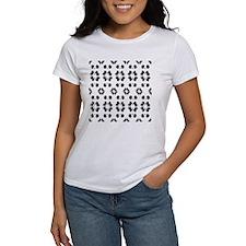 Panda Bears Pattern T-Shirt
