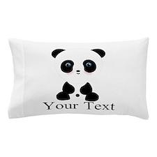 Personalizable Panda Bear Pillow Case